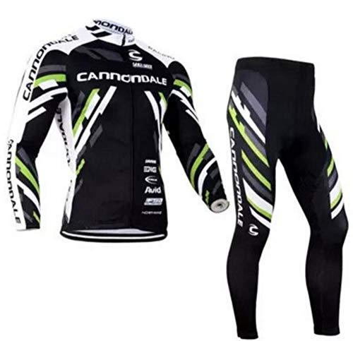AQWWHY Schnell Trocknend Atmungsaktiv Fahrrad Mountainbike Unisex Radfahren Jersey Hosen Strumpfhosen Kleidung Sets Anzüge Langarm Outdoor Sports -
