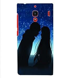 ColourCraft Valentine Love Couple Back Case Cover for XIAOMI REDMI 1S