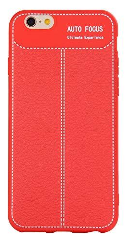 Bingran iphone 6s custodia ultra magro morbido elasticità silicone tpu [litchi texture] antigraffio goccia protezione case custodia per iphone 6/6s 4.7