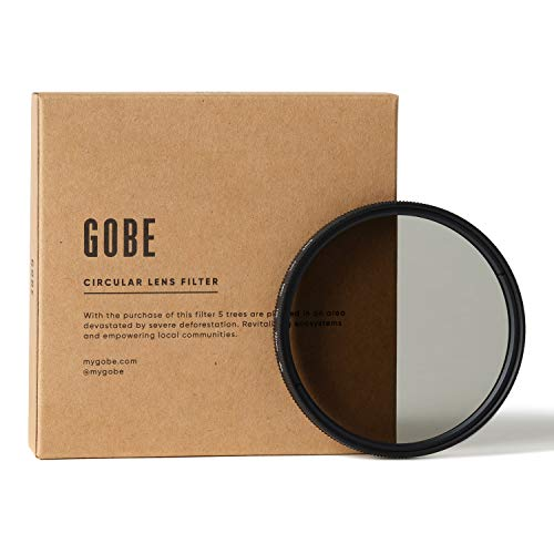 Gobe 72 mm Polfilter (Polarisationsfilter) CPL (2Peak)