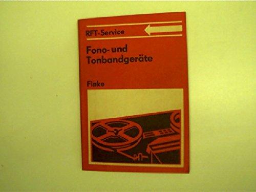 Fono- und Tonbandgeräte RFT-Service