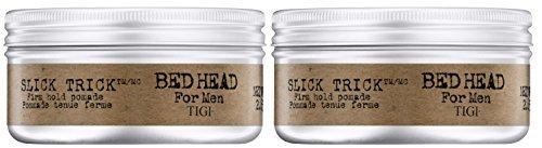 Tigi Bed Head For Men Slick Trick Pomade Duo (2 x 75 ml) (Tigi Bed Head-pomade)