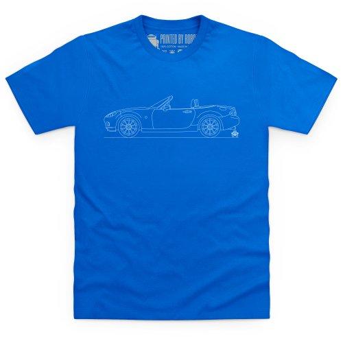 MX-5 Mk3 T-Shirt, Herren Royalblau