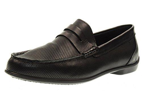 IGI&CO Man mocassin chaussures 77025/00 NOIR Black
