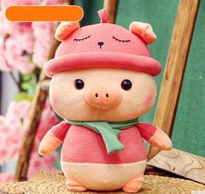 XXCKA Children Pig Pig Baby Baby Plush Toy Girl Ragdoll Cute Doll Mascot 50Cm Cherry Blossom Powder 1Pcs (Cherry Blossom, Doll)