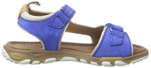 Bisgaard Sandals, Sandales ouvertes mixte enfant Blau (24 Sea)