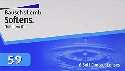 Soflens 59  - Lentes de contacto esféricas mensuales (R 8.6 / D 14.2 / 2 Diop), Pack de 6 uds.