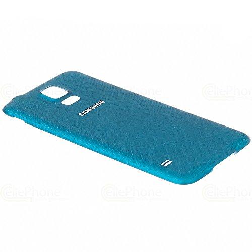Original Samsung Galaxy S5 ( SM-G900F ) ( GH98-32016C ) Akkudeckel - blau (Pocket Handy Samsung)