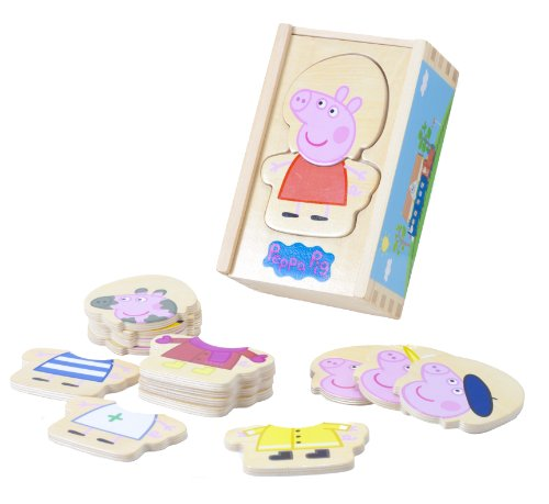 Peppa Pig Peppa Wooden Dress Up (UK Import) (Dress Up Uk)