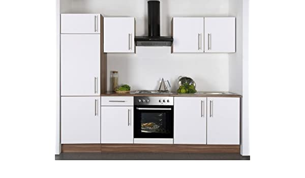 Kücheeinbauküche Komplett Mit E Geräten Amazonde Küche Haushalt