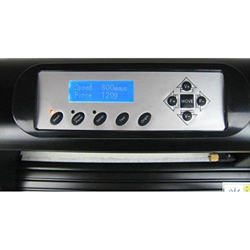 HobbyCut ABH-361 Schneideplotter 360mm Plotter + Artcut 2009 + Rollenhalter - 3