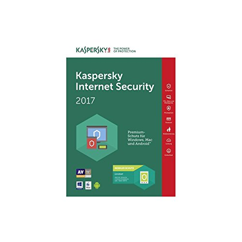Kaspersky Lab Internet Security 2017, 1u, 1y, Italiano