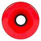 Kryptonics Star Trac Wheels 86A Red 70mm