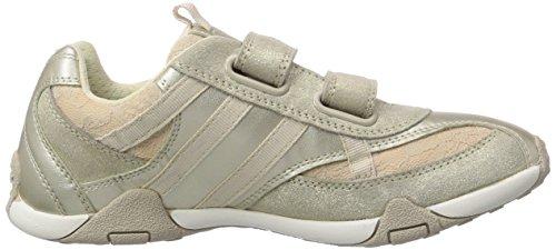 Geox JR TALE B, Low-Top Sneaker bambina Oro (Gold (LT GOLDC2012))