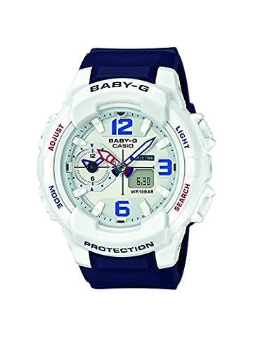 Casio Baby-G – Damen-Armbanduhr mit Analog/Digital-Display und Resin-Armband – BGA-230SC-7BER