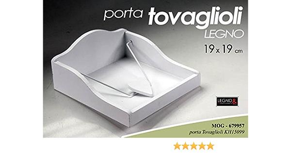 Wagtail Portatovaglioli in legno 19 x 19 x 5 cm
