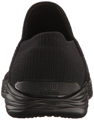 Skechers Sneaker Infilare Donna Nero (bbk)