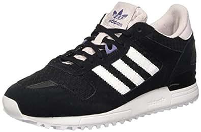 adidas Women\u0027s ZX 700 W Sneakers, Black (Negbas/Ftwbla/Purhie),