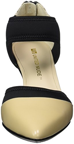 United Nude Damen Zink Dorsy Mid Pumps Mehrfarbig (Nude Mix)