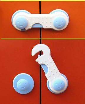 Cabinet Door & Cupboard Lock -- Adhesive / Childproof / Babyproof ...