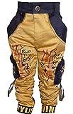 AD & AV Boys' Slim Regular Fit Trousers (135GOLDENCARGO_Model_AA26)