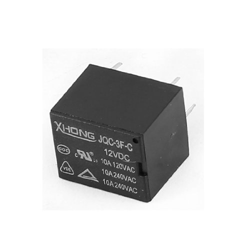DC 12V 10A 120/240V, 4-poliger Wechsler 5Pins Terminal PCB Power Relay jqc-3F-c DE de 120vac Power Relay