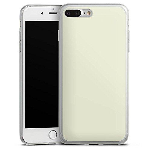 Apple iPhone X Slim Case Silikon Hülle Schutzhülle Pastellgrün Grün Green Silikon Slim Case transparent