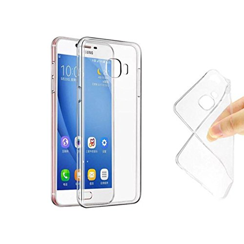 Lofad Case Samsung Galaxy On Nxt / J7 Prime / On7 Prime Case Ultra Thin Transparent Soft Gel TPU Silicone Case Cover for Samsung Galaxy On Nxt / J7 Prime / On 7 Prime - Black  available at amazon for Rs.99