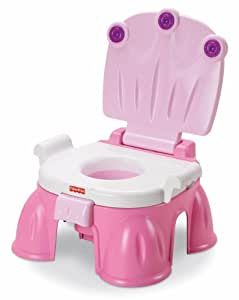 Fisher-Price - P4323 - Toilette de bébé - Pot Estrade Rose