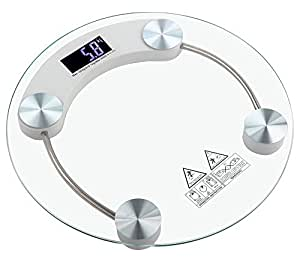 Gadget Hero's 180 KG With Backlit Digital Display Personal Bathroom Weighing Scale Machine