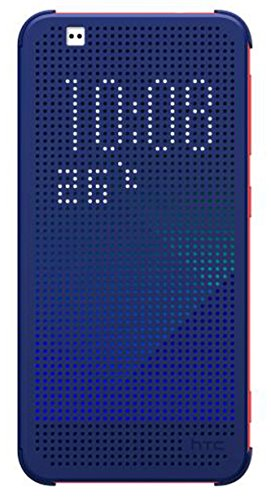 HTC E1 DOT View CASE, Blue (Handy Htc Eye)
