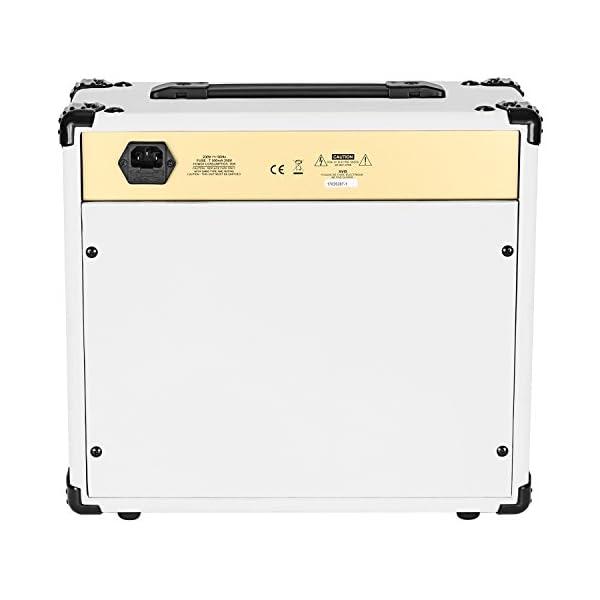 Neewer 20W Combo Amplificatore per Chitarra Elettrica con EQ a 3 Bande, 2 Canali, Ideale per Appassionati di Musica e Chitarra