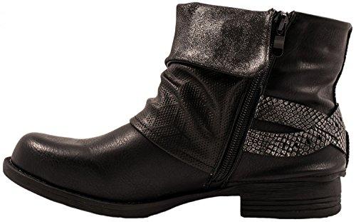 Boots Femme Desert Elara Noir Desert Elara Boots aqxfgcwRI