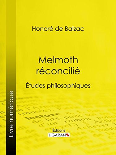 Livre gratuits Melmoth réconcilié: Études philosophiques pdf, epub