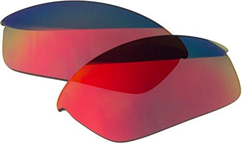 Ersatz-Objektive für Oakley Flak Jacket Sonnenbrille, Red Mirror