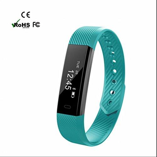 Pedometer Intelligente Armband Smart Watch Handys uhr Smartwatches Herzfrequenz Push-Nachrichten SMS Facebook Vibration Bluetooth kompatibel mit Android und IOS Handy