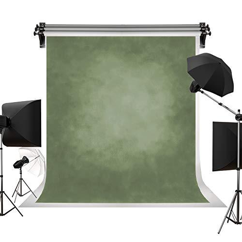 Kate Strukturierte Mikrofaser hellgrün Hintergründe für die Fotografie Faltbare Musselin unscharf Retro Foto Hintergrund Requisiten für Studio Hochformat 5 x 7ft /1,5 x 2.2 m