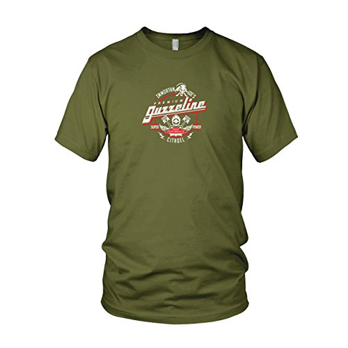 Fury Max Kostüm Road Mad - Immortan Joe's Premium Guzzeline - Herren T-Shirt, Größe: M, Farbe: Army