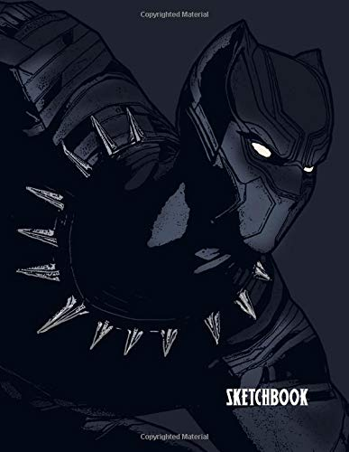 SKETCHBOOK: A Black Superhero themed Sketchbook and Notebook for your everyday needs.