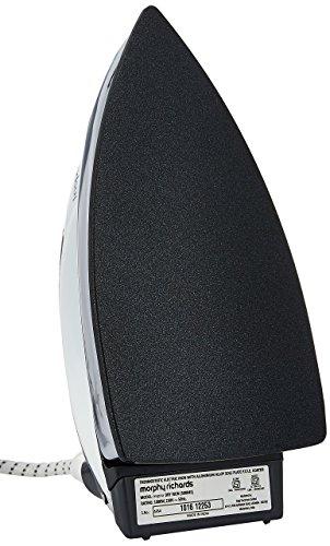 Morphy Richards Inspira 1000-Watt Dry Iron (White and Black)