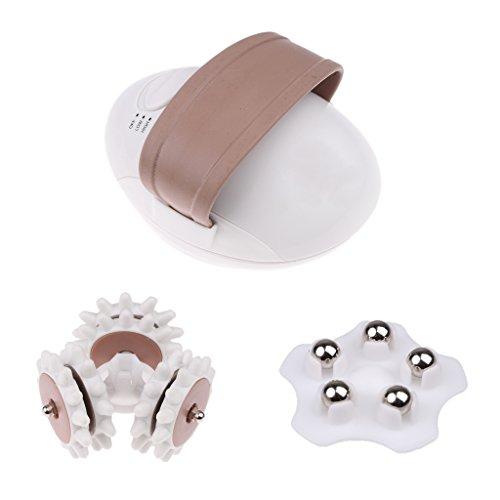 Baosity Elektrischer 3D Körper Gesicht Massage Roller Set Selbst-Massagegerät - Selbst-massagegerät Roller