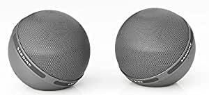 PANMARI Sandine Hifi B2 Big Sound boule sans fil Bluetooth Speaker Aux Portable USB Audio Player Pour Music For Téléphonie Informatique Subwoofer, Noir