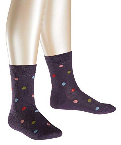 FALKE Mädchen Socken Dot, Gr. 31-34, Violett (viola 6735)