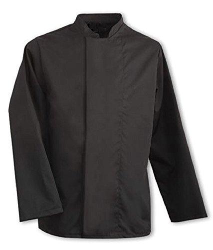 giacca-da-chef-colore-nero-bottoni-nascosti-appendiabiti-da-ristorazione-uniforme-ins09-nero-nero