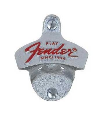 Fender Wandflaschenöffner orig. STARR-X aus den USA (silver) -