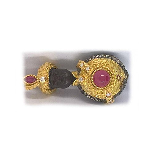 Pendentif artisanal pendantes Mori mori131or jaune