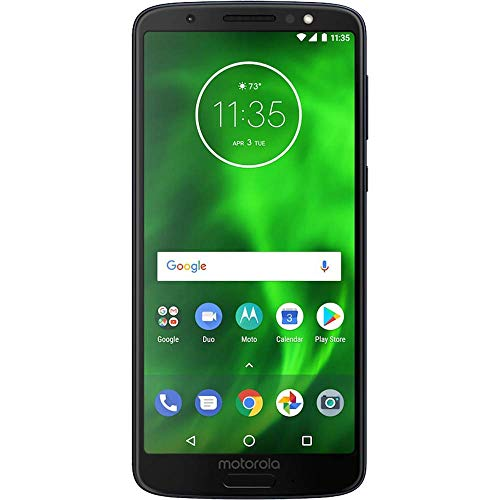 (CERTIFIED REFURBISHED) Motorola Moto G6 Play (3GB, 32GB Indigo Black)