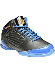 Admiral Mens Gage Black Blue Basketball Shoes - 11 UK/India (46 EU)(1120104-BLACK BLUE)