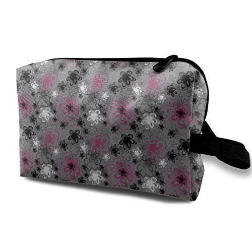 05130f6ab70d Travel Hanging Cosmetic Bags Vibrant Colored Blossoms Antique Retro  Multi-Functional Toiletry Makeup Organizer Beauty Bag