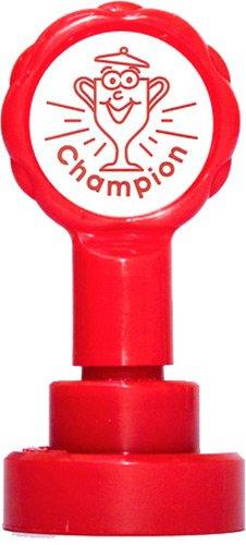 Xclamations X11872 Tampon Auto-encreur pour Enseignant Champion Couleur Alétoire